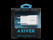 ATC21-U AXIVER ładowarka sieciowa USB 2.1A white box