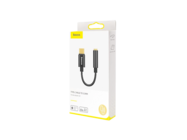 Baseus adapter L54 usb-c do jack 3,5mm black box