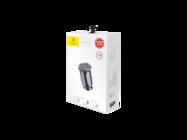 Baseus ładowarka samochodowa Grain 2x USB 3,1A black box