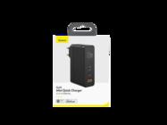Baseus ładowarka sieciowa GaN2 Mini PD 120W USB-C 1x USB + kabel USB-C - USB-C white box