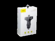 Baseus transmiter FM T-Type S-09A CCTM-01 Bluetooth MP3 ładowarka samochodowa czarna box