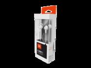 C100SL JBL zestaw słuchawkowy white retail