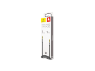CAM30-BS1 Baseus kabel audio Yiven M30 1m 3,5 mm-3,5 mm mini-jack silver-black box