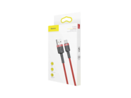 CATKLF-B09 Baseus kabel Cafule USB/Typ-C 1M 3A red box