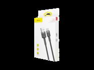 CATKLF-CG1 Baseus kabel Cafule USB - Typ-C 2m 2A szaro-czarny box
