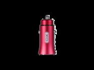 CC15 XO ładowarka samochodowa 2USB 2,1A red box