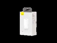 CCGAN2L-E02 Baseus ładowarka sieciowa GaN2 Lite 2USB 2xPD USB-C 65W white box