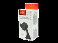 CWW5 eXtreme uchwyt samochodowy z ładowarką indukcyjną black box