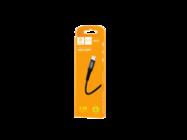 DENMEN kabel usb typ-c 1M D02T black box