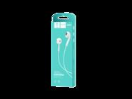 DENMEN słuchawki uniwersalne DR01 JACK 3,5 white box