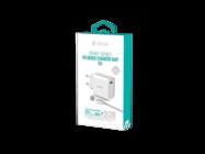 Devia ładowarka sieciowa USB-C 3A/20W PD + kabel USB-C - lightning white box