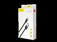 Double Fast Baseus kabel typ-c 1m 5A black box