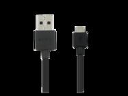 EC801 Sony kabel micro USB black bulk