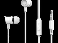 EP20 XO Słuchawki przewodowe 3,5mm jack white box