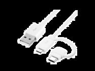 EP-DG930DWE Samsung combo typ C + MicroUSB white bulk