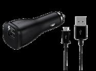 EP-LN915U Samsung ładowarka samochodowa black bulk + kabel ECB-DU4EBE