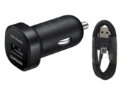 EP-LN930 Samsung ładowarka samochodowa black bulk + kabel EP-DG950CBE