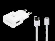 EP-TA20EWE Samsung ładowarka sieciowa white bulk + kabel EP-DG925UWE