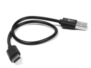 eXtreme kabel 30cm USB 2.0 typ-C black bulk