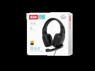 GE-01 XO Słuchawki nauszne black box