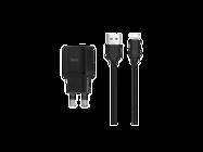 HOCO Ładowarka sieciowa C22A 1USB 2,4A + kabel USB lightning black box