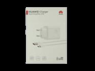 HW-100400E00 Huawei ładowarka sieciowa Super Charge white box + kabel typ-c CP84