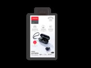 JR-TL1 Joyroom zestaw słuchawkowy TWS z wyświetlaczem black box