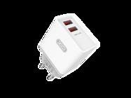 L31 XO ładowarka sieciowa 2xUSB 2,4A white box