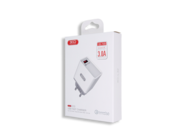 L32 XO ładowarka 1xUSB QC 3.0 white box