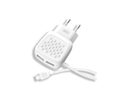 L51 XO ładowarka 2xUSB 2,1A white box + kabel lightning