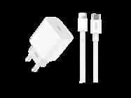 L77 XO ładowarka sieciowa 20W Typ-C + kabel Typ-C - lightning box