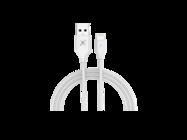 Maxximus kabel SET 2.4A LIGHTNING 1m white box