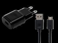 MCS-04ED LG ładowarka sieciowa black bulk + kabel micro USB