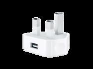 MD812B/C Apple ładowarka sieciowa FLEXTRONICS white bulk