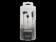 MDR-EX15AP Sony zestaw słuchawkowy black retail