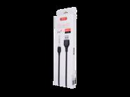 NB103 XO kabel lightning 2m 2,1A black box
