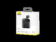 NGW09-01 Baseus zestaw słuchawkowy TWS W09 black box