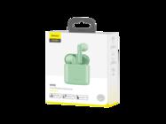 NGW09-06 Baseus zestaw słuchawkowy TWS W09 green box box
