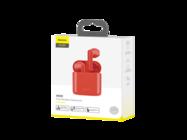 NGW09-09 Baseus zestaw słuchawkowy TWS W09 red box
