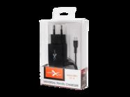 NTC21M eXtreme ładowarka sieciowa micro USB 2.1A black box