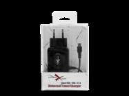NTC31MU eXtreme ładowarka sieciowa micro USB + USB 3.1A black box
