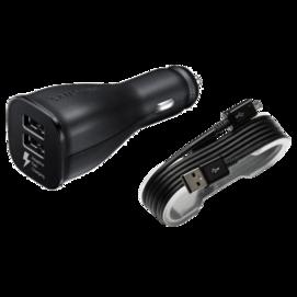 EP-LN920 Samsung ładowarka samochodowa black bulk + kabel ECB-DU4EBE plastic