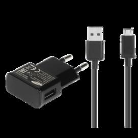 ETA0U81EBE Samsung ładowarka sieciowa black bulk + kabel ECB-DU5ABE