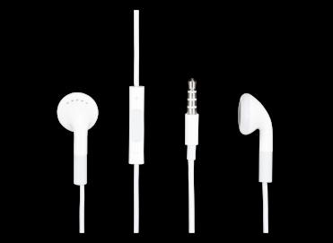 MB770G/A iPhone zestaw słuchawkowy white bulk