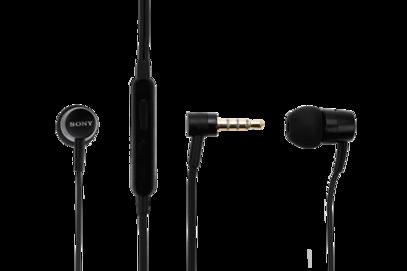 MH750 Sony zestaw słuchawkowy black bulk