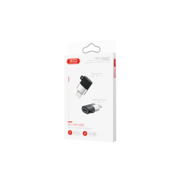 NB149-B XO adapter microUSB - lightning black box