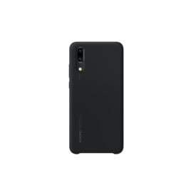 Silicone Case Huawei P20 black retail