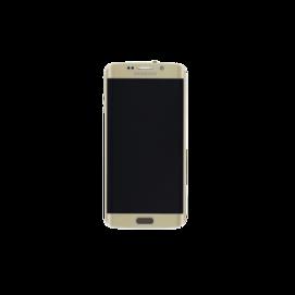 SM-G925f LCD Samsung Galaxy S6 Edge GH97-17162C złoty service pack