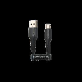 SMS-BW06 Somostel kabel microUSB 3,6A QC 3,0 1M black box
