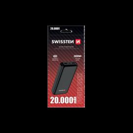 WORX SWISTEEN power bank 20000mAh black box